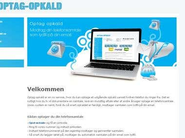 a2billing modification http://optag-opkald.dk