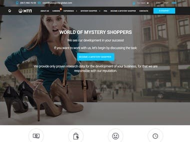 Mistery shoppers website