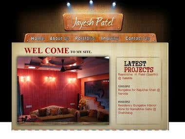 Website Development Of www.jayeshpatel.co.in