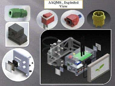 AAQMS : Exploded View