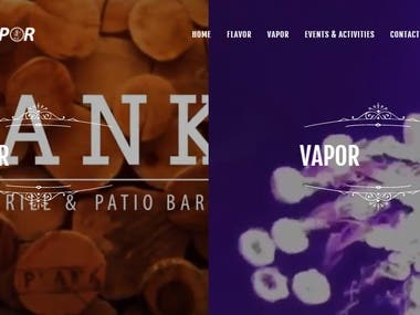Drink and Hookah Bar Restaurant Reservation