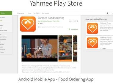 Yahmee Food Ordering
