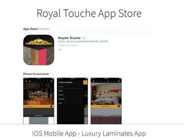 Royal Touche APP