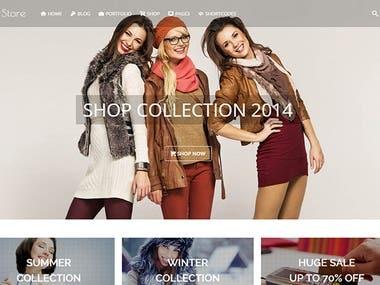 SW-Store WordPress Theme