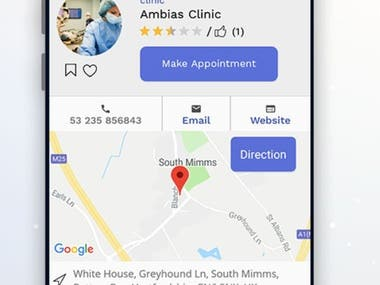 Doctor Directory Android Native App