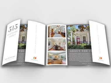 Promotional Brochure - Real Estate Marketing - USA