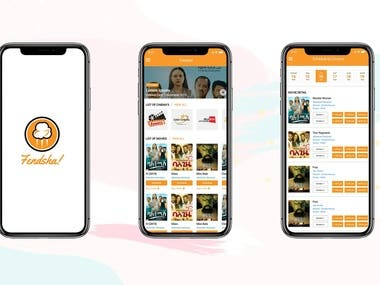 Fendsha (Movie schedule and information app)