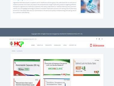 HK PHARMACEUTICALS WEBSITE