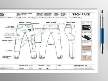 Woven Pant Tech Pack