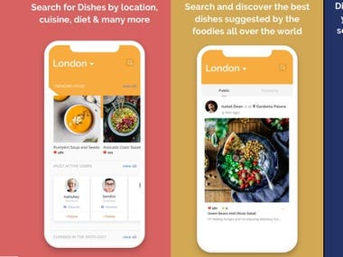 Grubshoots (Food advertise app for restaurants)