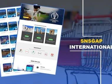 SG TELECOM - SNSGAP INTERNATIONAL