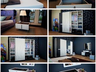 "3D Interior Design & Animation - Project ""ASPEN"""