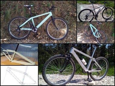 Bicycle - Sheet Metal Frame