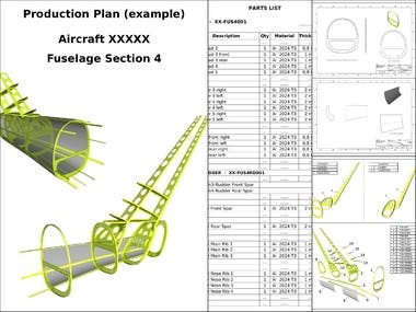 Sheet Metal Structure | Production Plan at CNC