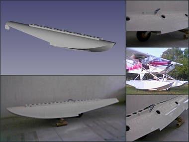 Metallic Aircraft Floats