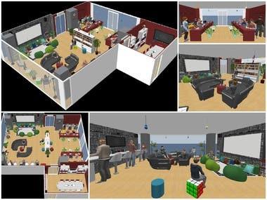 Interior Design | Creative Room