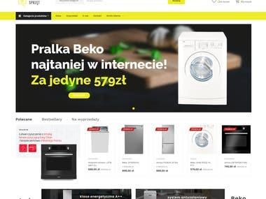 Sklep internetowy | SEO | Logotyp - Domowy-Sprzet