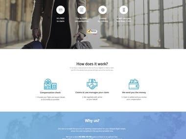 Strona www | SEO | System zwrotów - Claims&Law