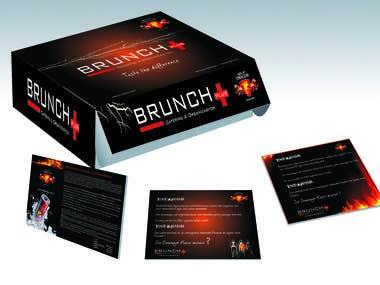box and invitation design