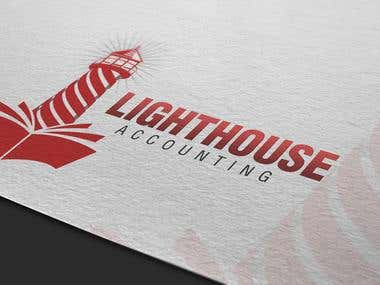 Logo design for Lighthouse accounting