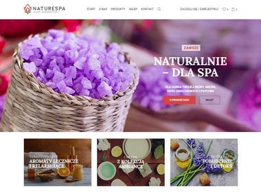 Nature Spa - sklep internetowy