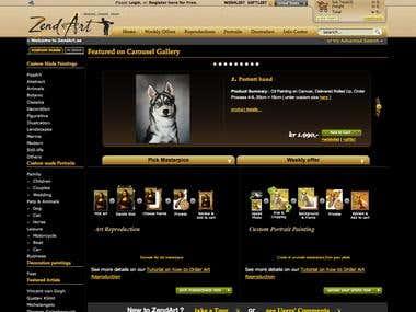 ZendArt Webshop