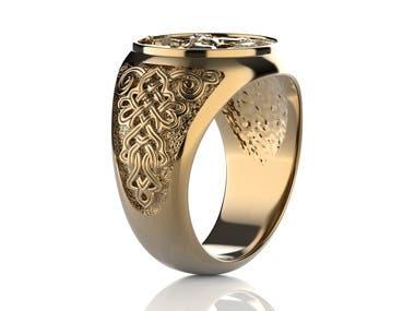 Jewellery design and rendering