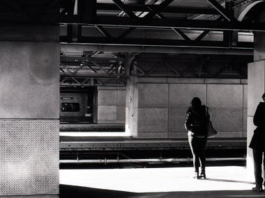 Strangers in a Train Station