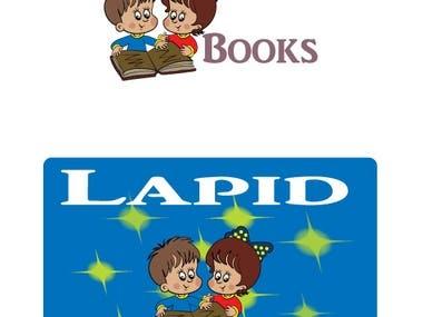 logo for a childrens books author