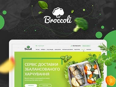 Web site Design for Broccoli
