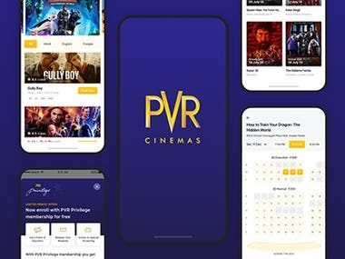 PVR Cinemas iOS App