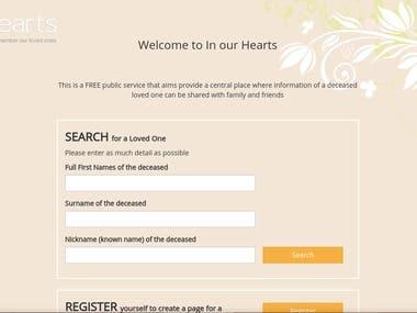 In our hearts (http://inourhearts.co.za/)