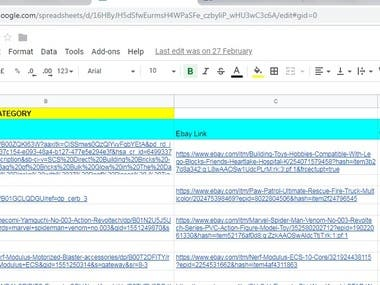 Product Research/Title Optimazation/SEO