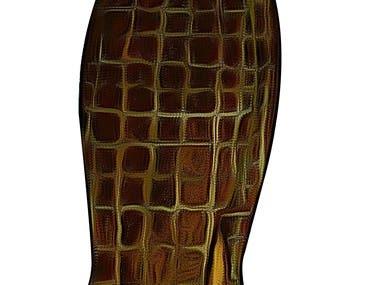 Skirt Design in illustrator