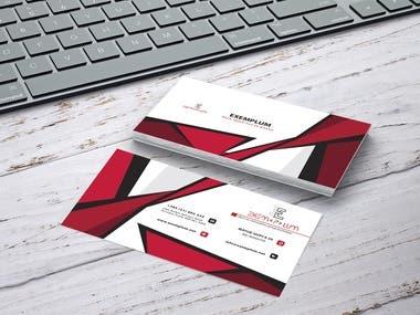 Visit card (Exemplum)
