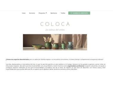 Página web para colocacalma.com
