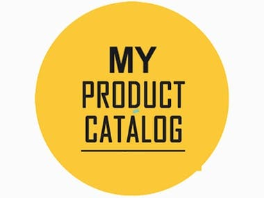 My Product Catalog App