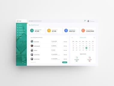 Dashboard Design - UI/UX Design