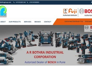 AR Bothra Group (Business Website)