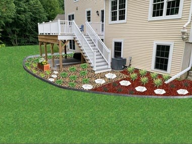 2D design - residential back yard