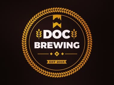 Beer Logo badge