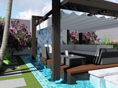 Private Villa Landscape
