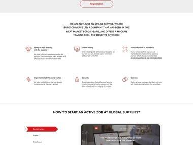 B2B platform Global Supplies