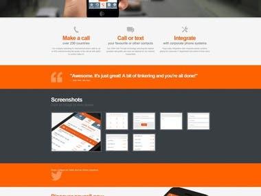 Mobile application Anycall