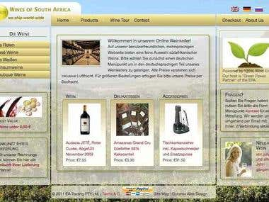 Web site samples