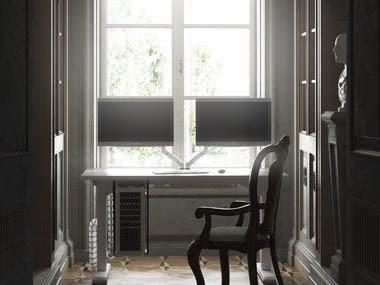 Individual Office | Retro/Modern Style