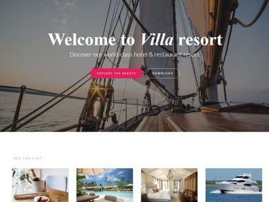 Resorts Booking