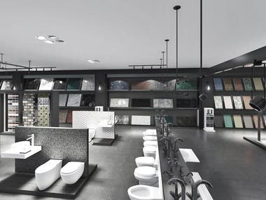 Tiles & sanitary showroom