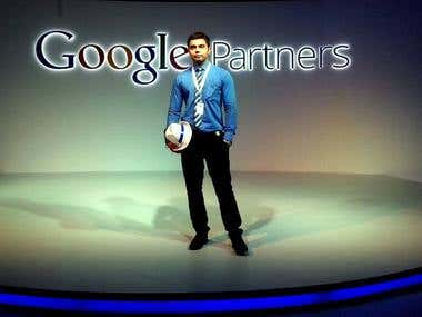 Our CEO as a Google Partner