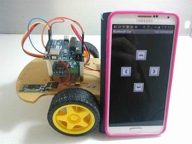 Remote control ROBOT with Arduino+ESP8266